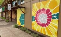 """Flower Power"" by Sarah McCraken at Redux, Portland"