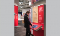 visitors only have learn the interaction pattern once to use all of the stations, unlike most exhibits with multiple interactives, which are all completely novel to use.