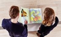Interactive book on Paul Gauguin at the Fondation Beyeler in Basel, Switzerland