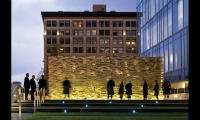 Gensler took on Public Architecture's pledge to dedicate 1% of the firm's person hours to pro bono work, and has pledged more than 43,680 person hours to projects such as the Los Angeles Police Department Memorial to Fallen Officers.