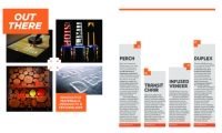 We also used the SEGD logo colors throughout the magazine.