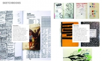 An early sketch-up of the Sketchbook column we created for the new eg magazine