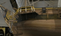 """One of the challenges that the design team faced was how to achieve a realistic look of the recreated """"La Belle"""" ship while not overtaxing the processing power of the HoloLens."""