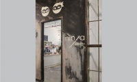 Another painted food hall branded space, this one for Ninja Bubble Tea.