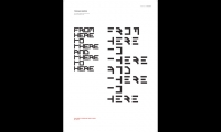 """Bevin named her geometric, modular typeface Umbrate (""""to shadow"""")."""