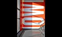 Stairwells provide dynamic locations for inspiring mottos. (Photo: Garrett Rowland)