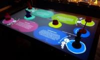 """""""Prop Stars"""" interactive table exhibit"""