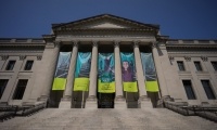 "The traveling exhibit ""Numbers in Nature"" arrived at the Franklin Institute in Philadelphia in May 2017."