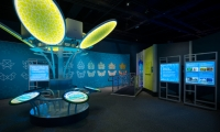The entire exhibit was fabricated for quick set-up and compact storage, as touring museum exhibits usually allow for about two weeks for setup and one for teardown.