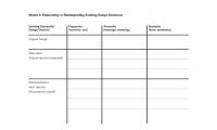 Matrix 8. Elaborating or Reinterpreting Existing Design Decisions