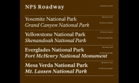 Meeker and type designer James Montalbano developed NPS Rawlinson as part of new sign standards for the park service. Human factors research showed Rawlinson was more legible and effective for road signs. New text weights were designed for print and all other applications, transforming the way NPS uses type across all media.