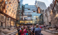 You'll have two chances to explore the Mill City Museum: on the walking tour and at the SEGD Minneapolis Chapter Mixer. [Photo credit: Photo by Coppersmith Photography, Courtesy of Meet Minneapolis]