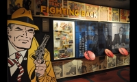 Immersive environments, scenic recreations and highly interactive spaces put the visitor in the shoes of mobsters, federal investigators and gamblers as they explore the Mob Museum. (Photo: Sujit Tolat, Gallagher & Associates)