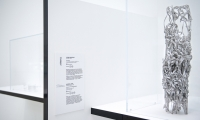 The graphic design was kept minimal to compliment the exhibition design