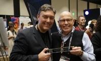 SEGD President John Lutz presented the NEXPO awards