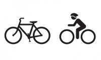 Existing and Proposed (Animate) Cycling Symbols