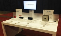 """Office Depot's """"Innovation Table"""" combines traditional merchandising with touch engagement."""