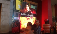 At the iconic Madame Tussaud's Wax Museum on Times Square, OpenEye Global created a 15x15-ft. digital display that offers passersby a sneak preview of what's inside.