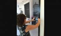 Interactive display at British Telecom store