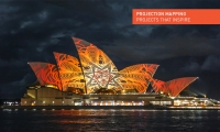 Projection Mapping at the Sydney Opera House. (Obscura Digital)