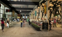 Jamestown hopes Ponce City Market's central food hall will rival great food halls such as Pike Street Market in Seattle, Chelsea Market in New York, and Quincy Market in Boston.