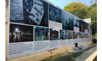 "Pondy Art: Since 2012, Pondy Art, a photography initiative founded by Kasha Vande has produced a series of experimental photo exhibitions in public ""non exclusive environments"" focusing on important issues in India."