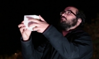 Lloret created a handheld interface cube that tracks rotation and orientation.