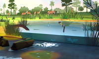 River of Grass | Frost Museum of Science, Miami, 2017 | Formula D Interactive