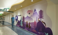 When Seattle Children's Hospital opened a new wing in 2013, they wanted art to be an integral part of the environment.
