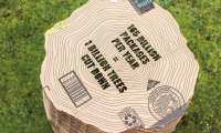 Secondary Stat: About 165 billion packages are shipped in the US each year, with the cardboard used roughly equating to more than 1 billion trees.