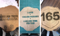 Key Stat: 2/3 of North American containerboard is made from virgin, not recycled, pulp. This leads to more trees being cut down to meet our e-commerce needs.