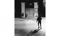Urban Diary Excerpt No. 5 Figure 1.8 (images: children play in a European city setting at night)