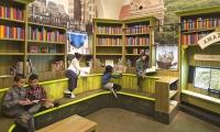 Barbara K Lipman Children's History Library at DiMenna Children's History Museum [photo: Jon Wallen]