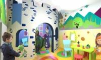 """""""Little Heroes"""" themed play area, Pirogov Hospital, Children's Wing"""