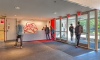 The Spagnola team specified new flooring and furniture in addition to branding the space.