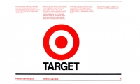 Target Exterior Branding Manual, designed while Lorenc was Design Director at Ted Peterson Associates (Hinsdale, Illinois 1977).