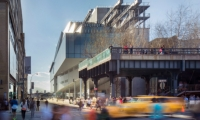 The Whitney's new Renzo Piano-designed building opened in the Meatpacking District in May 2015. The High Line is shown in the foreground. (Photo: The Whitney)