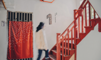 Winner of the 2018 Sylvia Harris Award, the Red Stairs is a wayfinding project completed by Tongji University.