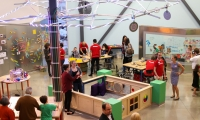 """Mueller Neighborhood & The Thinkery: The home of Austin's """"How & Why,"""" The Thinkery provides a space for science and community to come together and connect through doing, making and experience. Hear from the museum team on how they achieve this."""