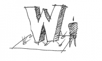 "The thumbnail sketch which launched the ""Big W"""