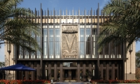 """The Art Deco kit of parts and marketing center building at Vanke Plaza (Shenzhen, China) were designed by Lorenc+Yoo Design and display a great example of """"architectural jewelry."""""""