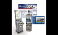 The Interpret Green Foundation created prototype kiosks, a website, and cell phone tours for the 600-mile Washington Rochambeau Revolutionary Route.
