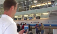 American Airlines is testing iBeacon technology at Dallas/Fort Worth International Airport.