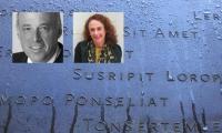 Keith Helmetag and Amy Siegel