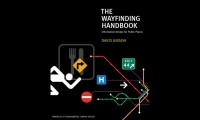 """The Wayfinding Handbook was designed for students, architects, and designers and reveals Gibson's process for finding the """"hidden logic"""" in urban spaces."""