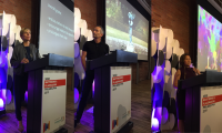 Speakers at the 2019 SEGD Wayfinding and Placemaking event in Philadelphia