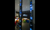 State-of-the-art demonstration towers show guests what they can do with XFINITY products.