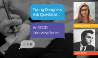 Are you a young designer? Want to participate in our series? Email kate@segd.org