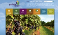 In rural northwest North Carolina, four counties pooled resources to create a new destination: Yadkin Valley. A website was among first steps.