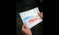 Visitors can take print maps with them.